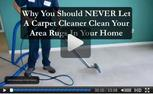 area rugs cleaned properly