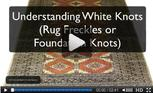 hand knotted rugs white knots